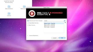 Pro Tools® M-Powered™ Essential - Mac OS X Installation (3 of 3): HW Connections & Launching
