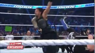 AJ Styles -  Pelé Kick to Roman Reigns