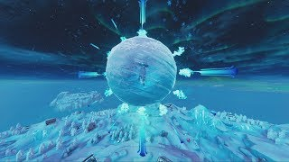 Relive THE FORTNITE ICE STORM EVENT!  (FORTNITE BATTLE ROYALE)