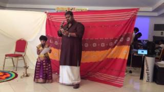 Pookkal Panineer Pookkal- Manas Menon and Nandana Manas Menon