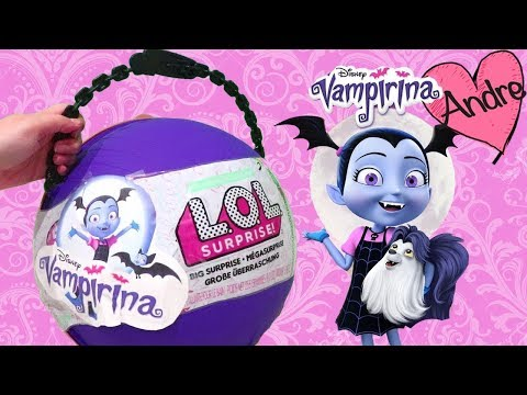 Xxx Mp4 LOL Big Surprise DIY De Vampirina Con Sorpresas Muñecas Y Juguetes Con Andre Para Niñas Y Niños 3gp Sex