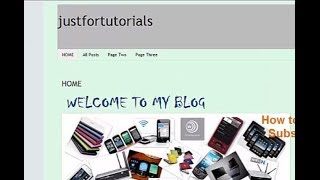 HOW TO CREATE A CUSTOMIZED HOME PAGE IN BLOGGER (CHANGE THE DEFAULT HOME PAGE)