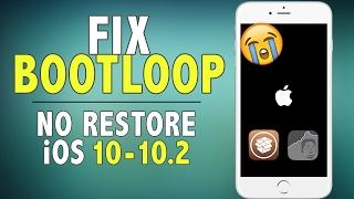 How to Fix Bootloop/Perma Safe Mode on iOS 10 - 10.2 Jailbreak (NO RESTORE) | Yalu iOS 10 Jailbreak
