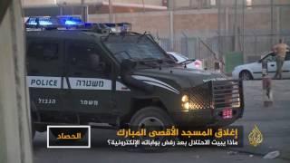 الفلسطينيون يواصلون صلاتهم ورباطهم خارج بوابات الأقصى