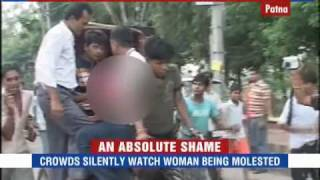 Crowd Watches As Woman Is Molested