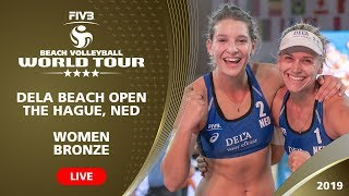 The Hague 4-Star 2019 - Women BRONZE - Beach Volleyball World Tour