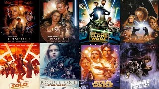 How To Watch Star Wars In Chronological Order (Updated With Solo)