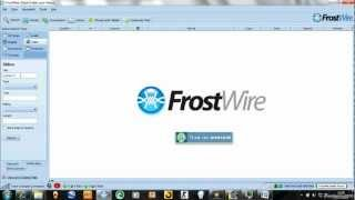 How To Download Movies Online With FrostWire For FREE!!
