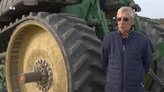 Traktor guseničar - retkost na našim njivama, ali čemu služi?