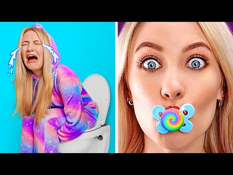 IF ADULTS ACTED LIKE KIDS Epic Body Swap by 123GO PLAY