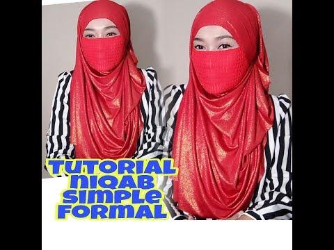 Tutorial niqab simple formal #3Style