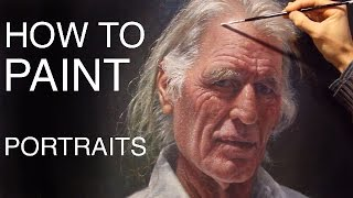 How To Paint Portraits: EPISODE ONE - Russell Petherbridge's Portrait