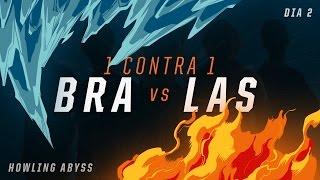 LAS x BRA (Dia 2 - 1 contra 1) - IWCA 2016