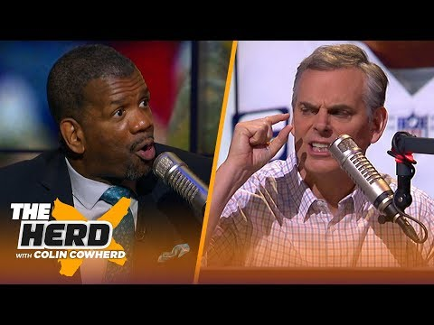 Rob Parker is not buying Dak as better Cowboys QB than Tony Romo Talks KD vs. LeBron THE HERD