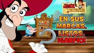 Jake y los Piratas de Nunca Jamas ►Garfio! / Español Latino