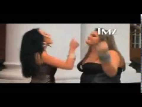 pihfurlanetto Briga de Mulheres Gorda provoca e leva umas na cara