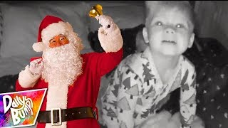 **Caught on Camera!** Brother's Wake Up On Christmas Morning Looking For Santa! 🎅