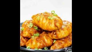 Chicken Chili Garlic Momos | Chili Garlic Momos | Chicken Momos