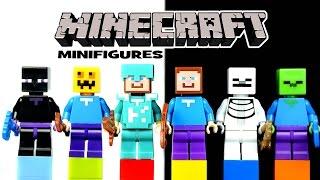 LEGO Minecraft KnockOff Minifigures (Bootleg)