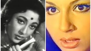 Mala Sinha had Slapped Sharmila Tagore on Set of