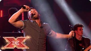 Matt Linnen performs Careless Whisper   Live Shows   The X Factor 2017