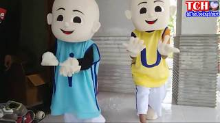 LAGU ANAK-ANAK BINTANG KECIL VERSI UPIN & IPIN | QYLA BERSAMA BADUT UPIN dan IPIN DANCE