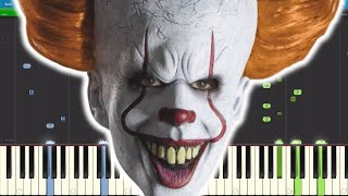 Pennywise Gonna Get Ya - IT (2017) Parody - Piano Cover / Tutorial