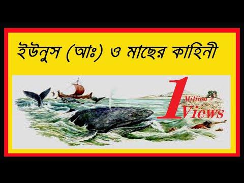 হযরত ইউনূস (আঃ) ও মাছের কাহিনী Prophet YunusJonah and The Large Fish Story From Quran in Bangla