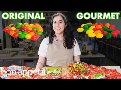 Pastry Chef Attempts To Make Gourmet Skittles Gourmet Makes Bon Appétit