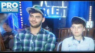Romanii au Talent 2017 Au fost surprinsi de talentul lor! | Fratii Anisia