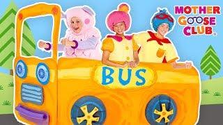 Kids Songs | Yellow | Wheels On The Bus | Kindergarten Nursery Rhymes & Songs for Kids Mother Goose