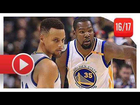 Stephen Curry & Kevin Durant Full Highlights vs Raptors (2016.11.16) - ESPN Feed