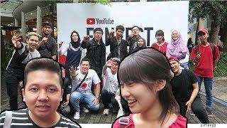 Ketemu cewek Jepang di YOUTUBE FANFEST Bandung ft. Senpaifuoka & Fikuri desu #YTFFID