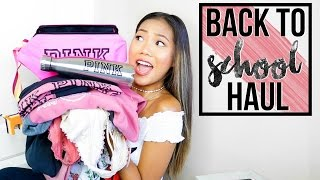 Back to School: Huge Try On Clothing Haul 2016 || Farina Aguinaldo