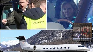Prince Edward and Sophie take £24,000 private plane for skiing holiday