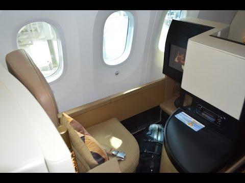 Etihad B787 9 Business Studio EY131 Abu Dhabi to Washington