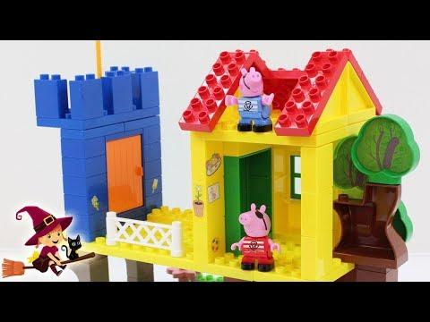 Xxx Mp4 La Casa Del Árbol De Peppa Pig 🏩 5 Videos De Bloques De Construcciones 3gp Sex