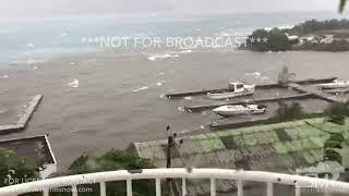 09-06-2017 Tortola, British Virgin Islands - Hurricane Irma Approaching