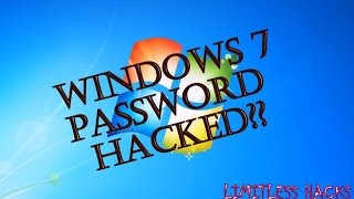 RESET FORGOTTEN WIN 7 PASSWORD WITHOUT ANY SOFTWARE OR WINDOWS CD | USING COMMAND PROMPT |