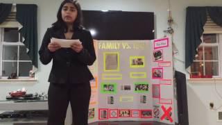 FCCLA-Family VS Technology (Illustrated Talk)