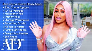 Blac Chyna Designs a Dream House That Has a 10-Car Garage and a Money Room   Architectural Digest