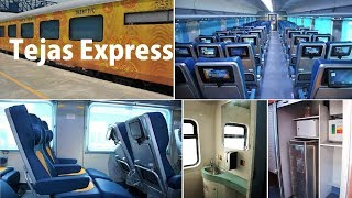 Indian Railways Train Tejas Express: A tour of new Features