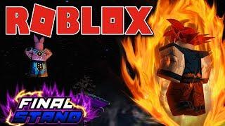 Roblox - ENFRENTANDO A PATRULHA GALÁCTICA ( Dragon Ball Z Final Stand )