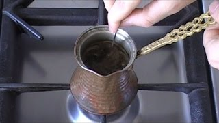 How to Make Turkish Coffee   Authentic and Delicious