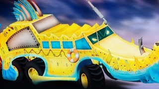 Crypto Trucks | Ness Seal | Crypto Force | Trucks For Kids |  Monster Truck Videos | Kids Cartoon