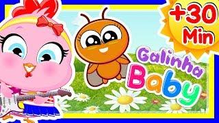 A Baratinha +30 Min de Música Infantil com a Galinha Baby