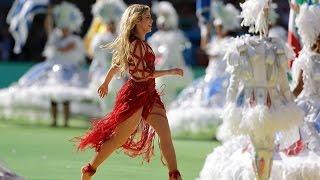 Closing Ceremony FIFA World Cup 2014 | SHAKIRA  LIVE BRAZIL