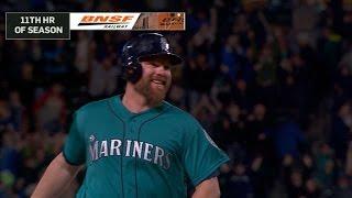 Lind smashes a three-run walk-off homer