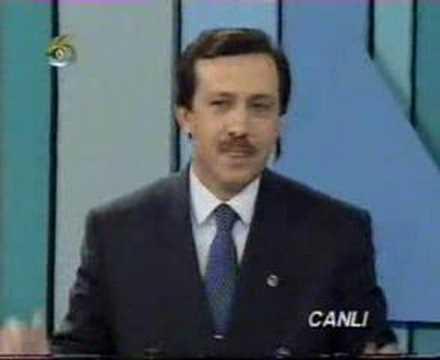 Recep Tayyip Erdoğan Refah Partisi zamanında