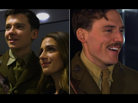 Sam Claflin and Asa Butterfield take us on set of A Journey's End